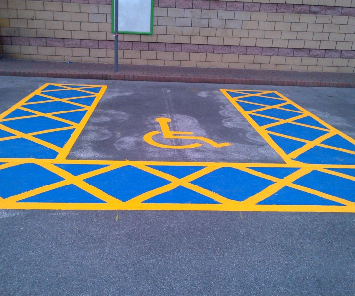 Altrincham Disabled Bay